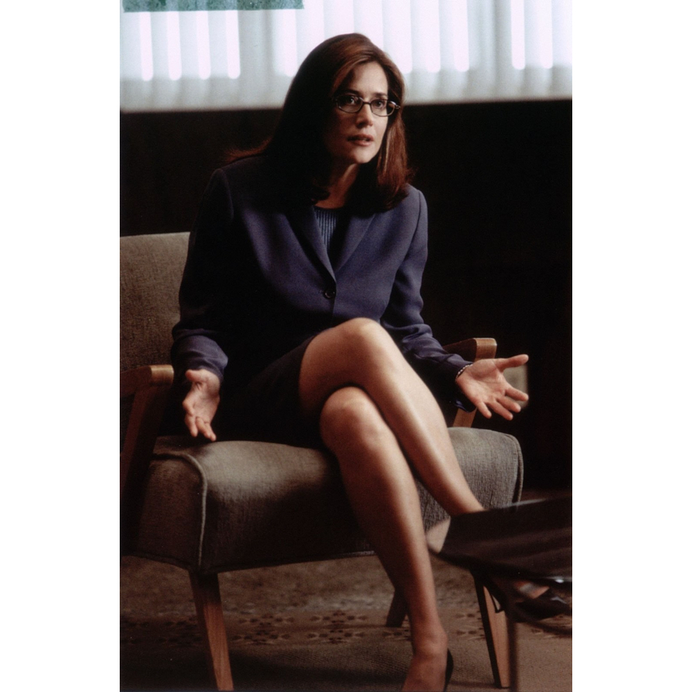 Dr Jennifer Melfi Costume - The Sopranos Fancy Dress - Dr Jennifer Melfi Suit - Lorraine Bracco Legs - Lorraine Bracco High Heels - Lorraine Bracco Pantyhose - Lorraine Bracco Stockings