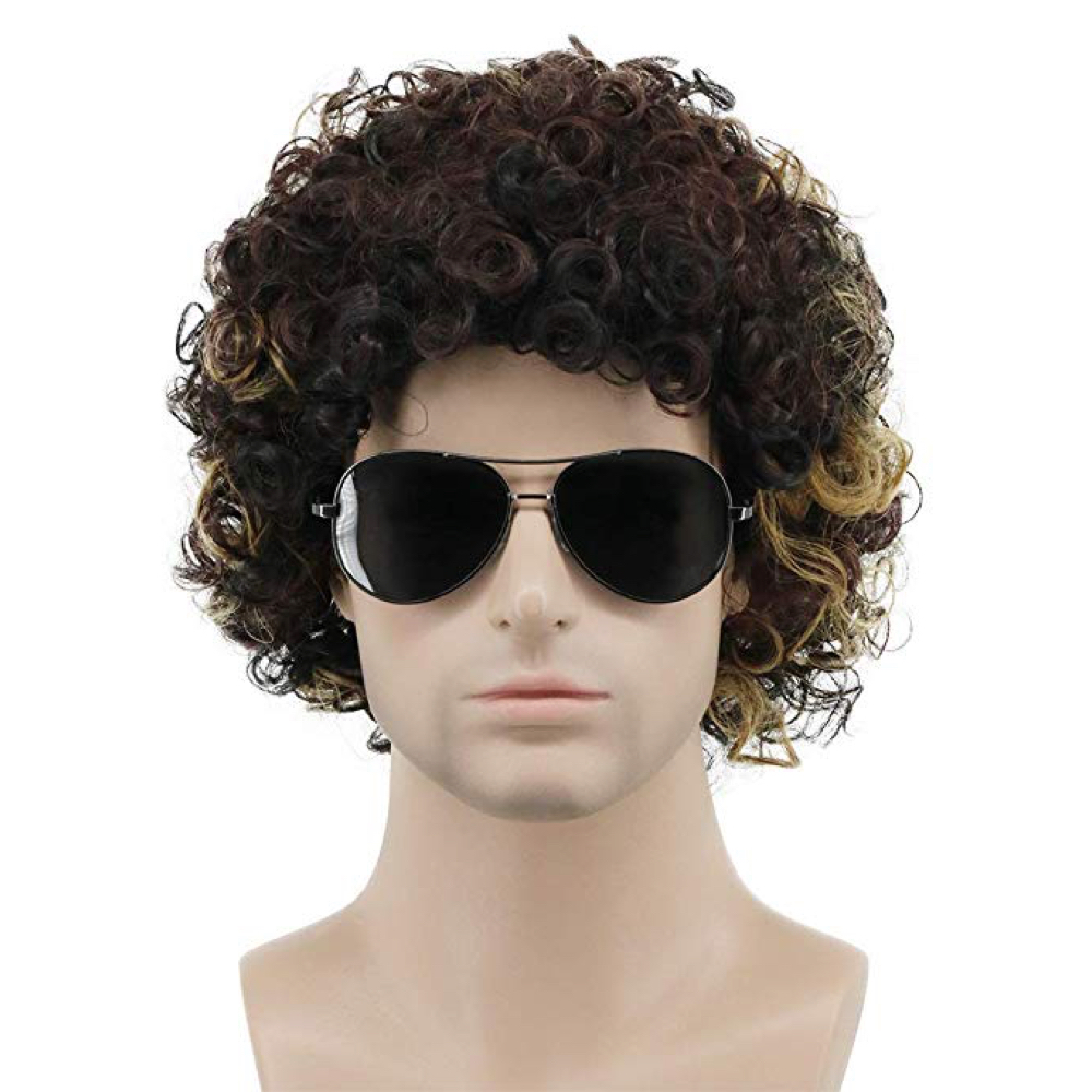 Dustin Henderson Costume - Stranger Things Fancy Dress - Dustin Henderson Hair Wig