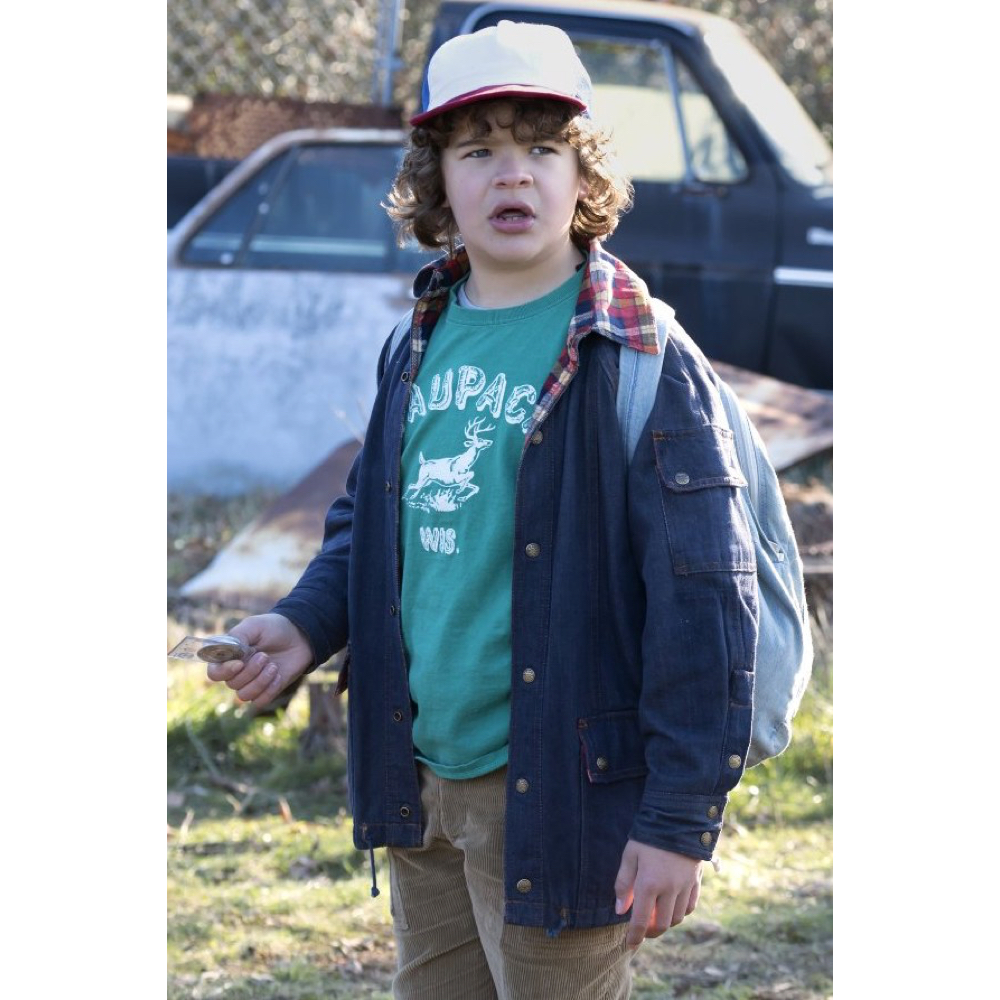 Dustin Henderson Costume - Stranger Things Fancy Dress - Dustin Henderson T-Shirt
