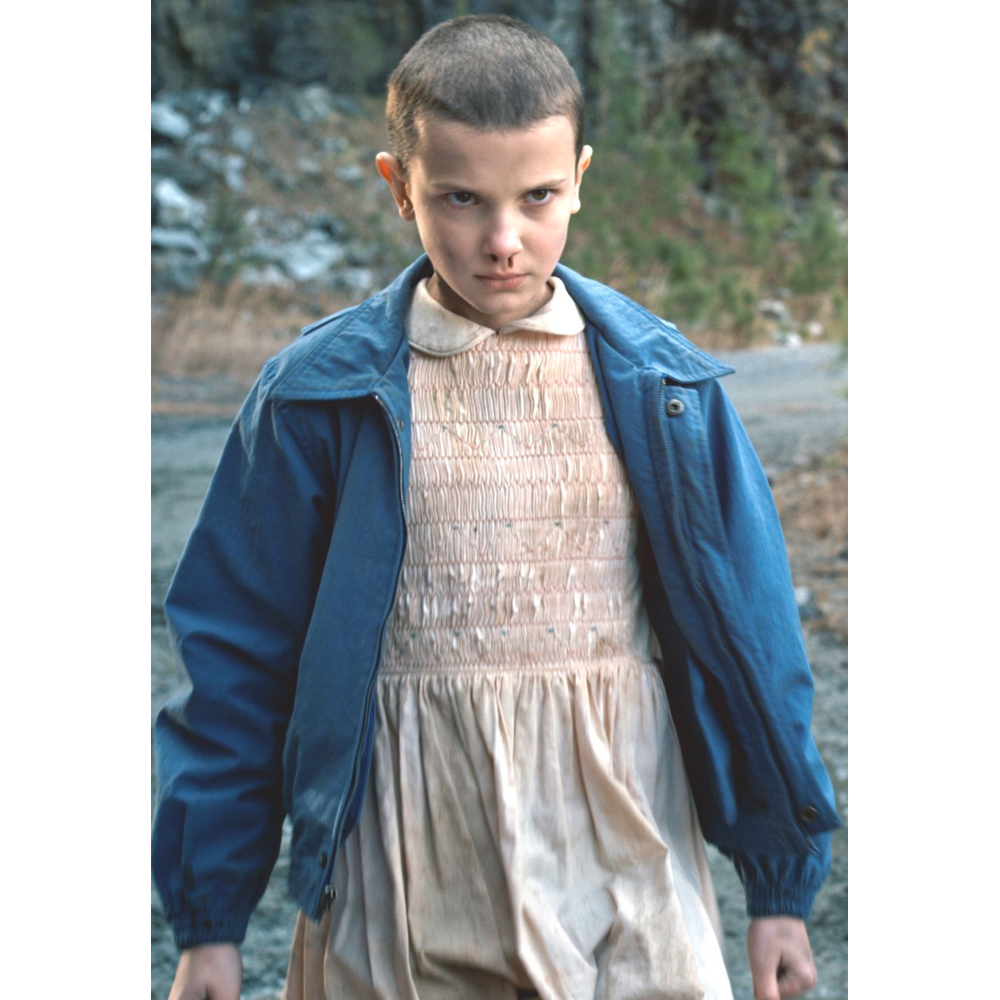 Eleven Costume - Stranger Things Fancy Dress - Eleven Dress