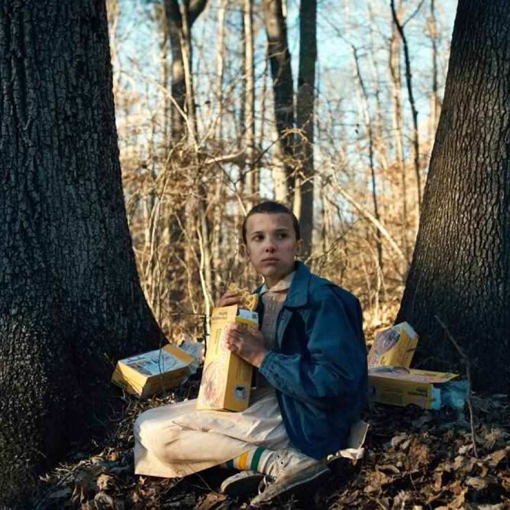 Eleven Costume - Stranger Things Fancy Dress - Eleven Sneakers