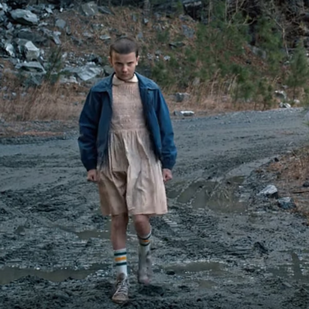 Eleven Costume - Stranger Things Fancy Dress - Eleven Socks