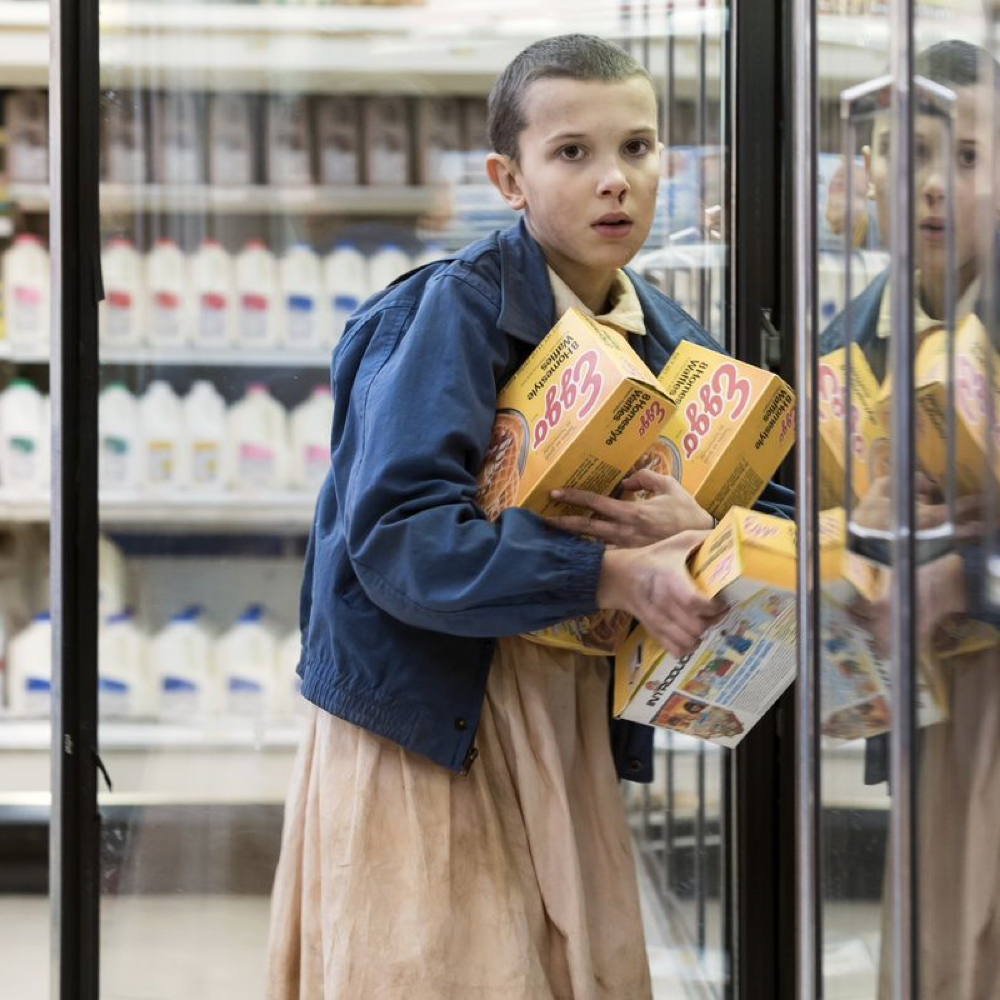Eleven Costume - Stranger Things Fancy Dress - Eleven Waffles