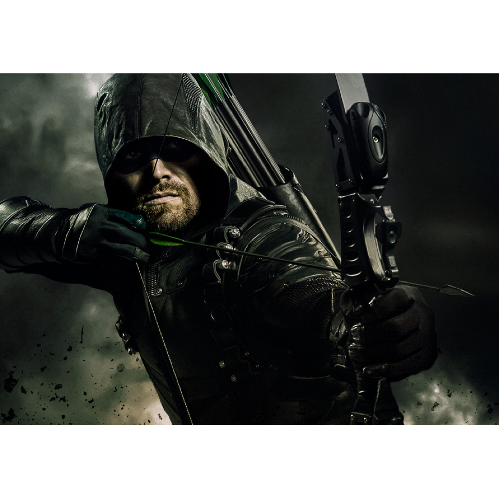 Green Arrow Costume - Arrow Fancy Dress - Green Arrow Bow and Arrow