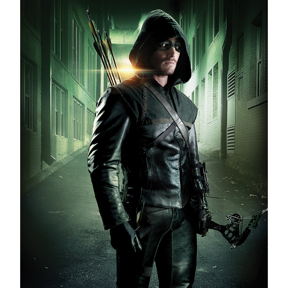 Green Arrow Costume - Arrow Fancy Dress - Green Arrow Jacket
