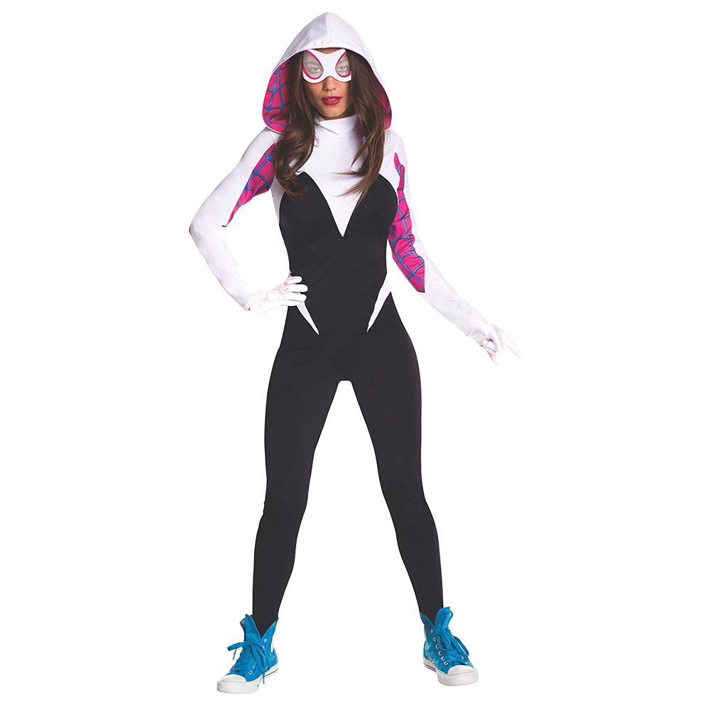Gwenpool Costume - Deadpool Fancy Dress - Gwenpool Bodysuit