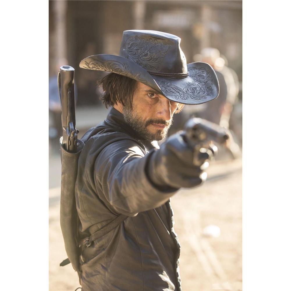 Hector Escaton Costume - Westworld Fancy Dress - Hector Escaton Rifle