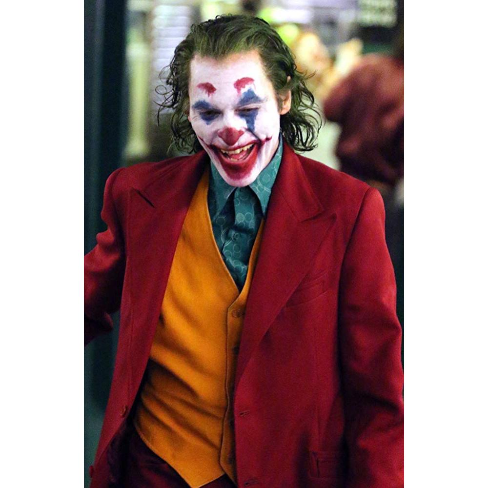 Joker Costume - Joker Movie Joker Fancy Dress - Joker Red Shirt