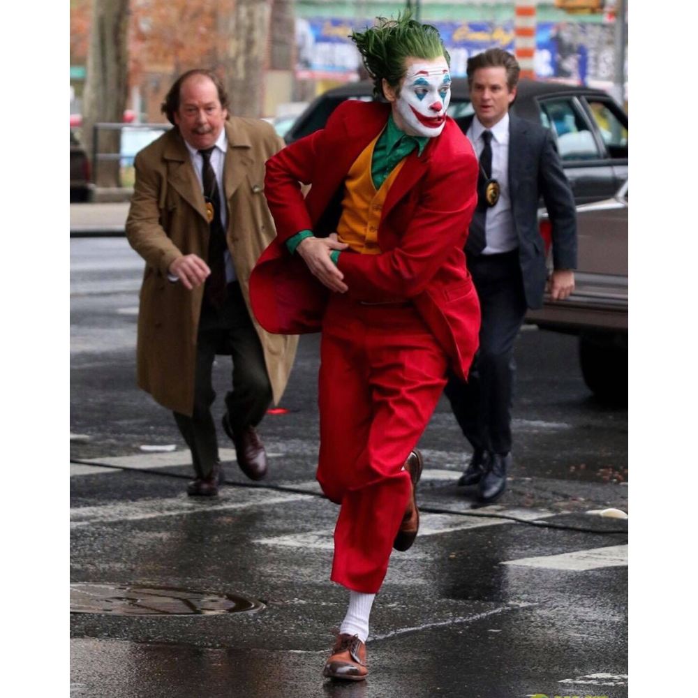 Joker Costume - Joker Movie Joker Fancy Dress - Joker Red Shoes