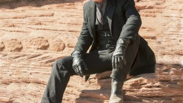 Man in Black Costume - Westworld Fancy Dress - Man in Black Cosplay