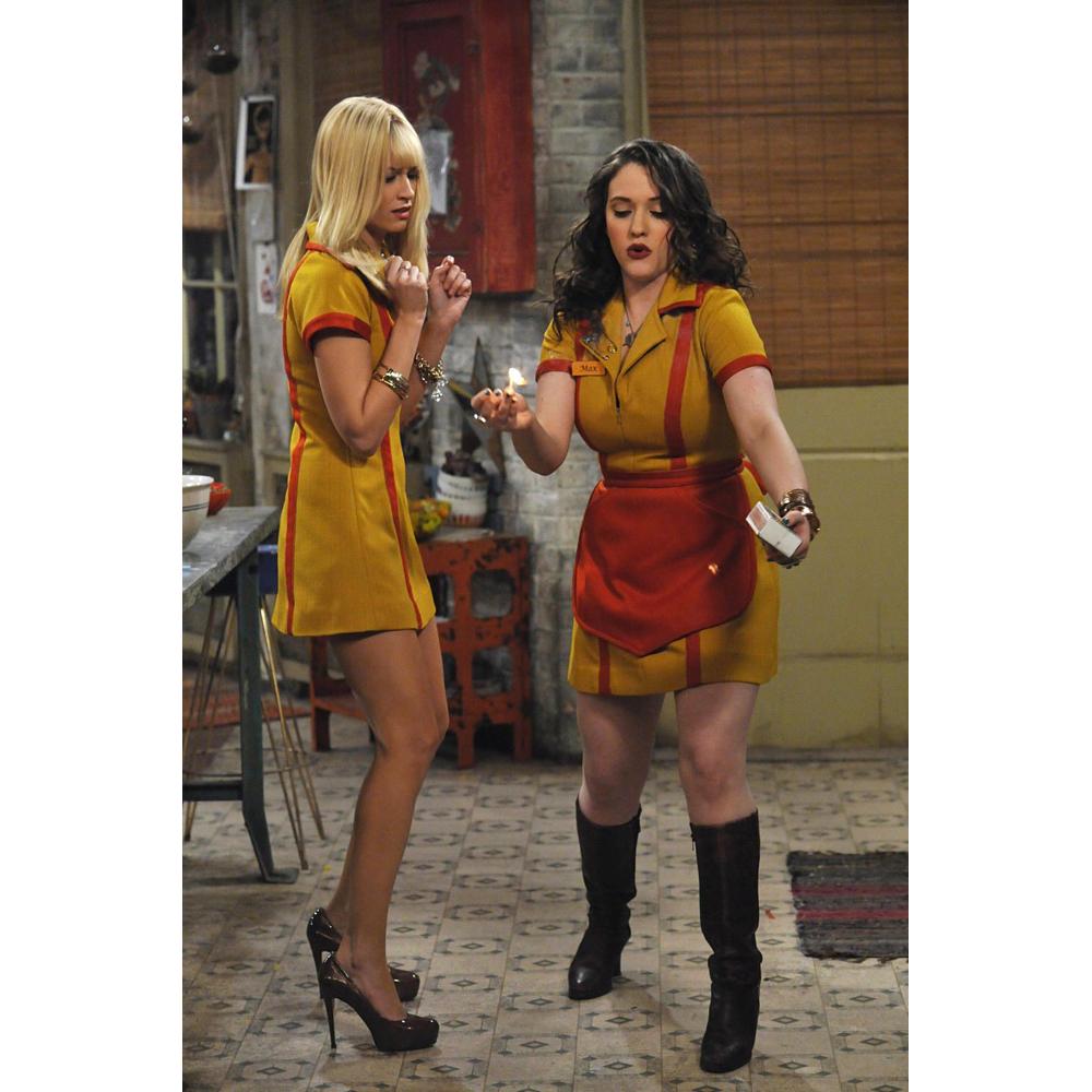 2 Broke Girls Costume - 2 Broke Girls Fancy Dress - 2 Broke Girls Bracelet - Max Bracelet - Beth Behrs Legs - Beth Behrs High Heels