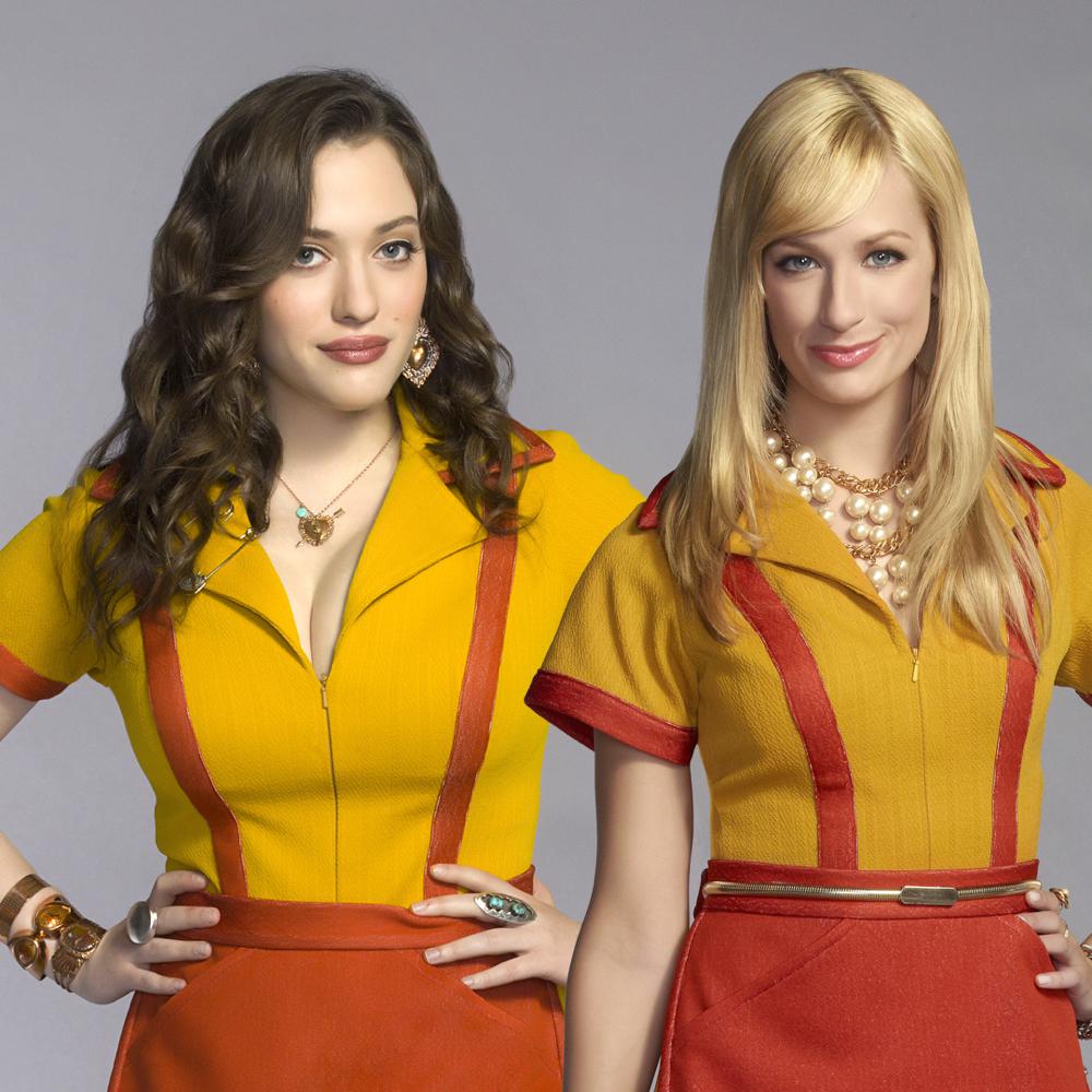 2 Broke Girls Costume - 2 Broke Girls Fancy Dress - 2 Broke Girls Earrings - Max Earrings