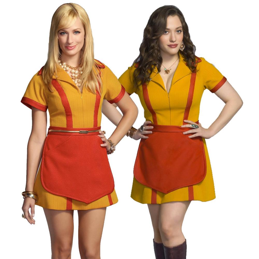 2 Broke Girls Costume - 2 Broke Girls Fancy Dress - 2 Broke Girls Necklace - Max Necklace