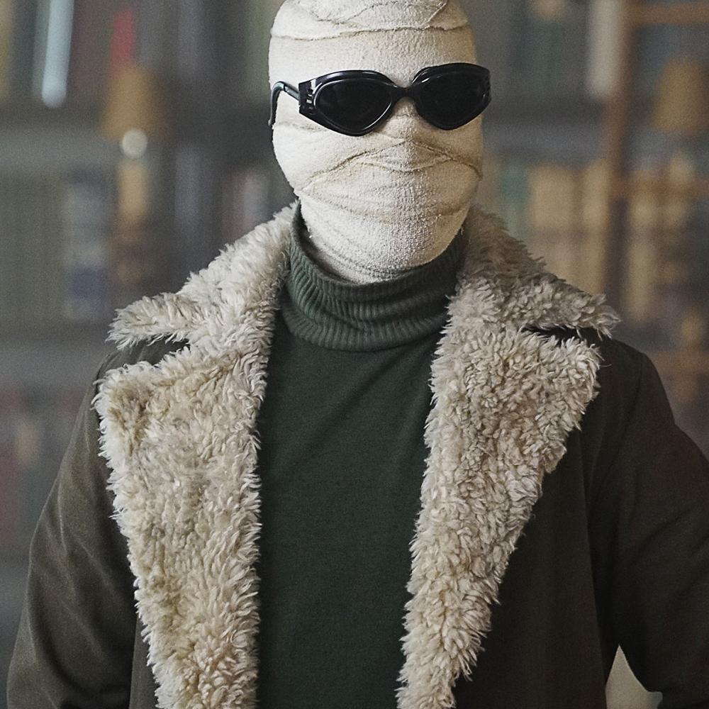 Negative Man Costume - Doom Patrol Fancy Dress - Negative Man Bandages