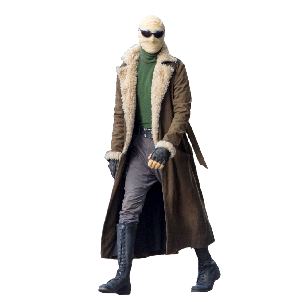 Negative Man Costume - Doom Patrol Fancy Dress - Negative Man Belt