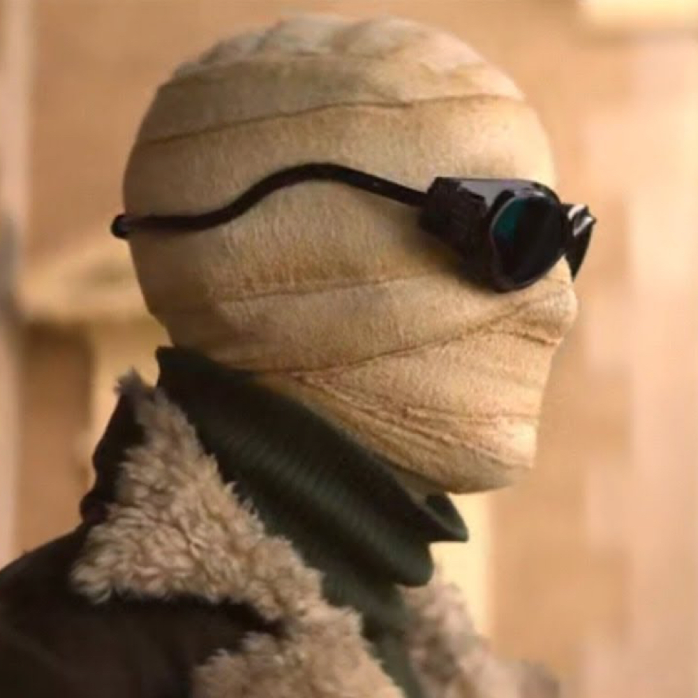 Negative Man Costume - Doom Patrol Fancy Dress - Negative Man Sunglasses