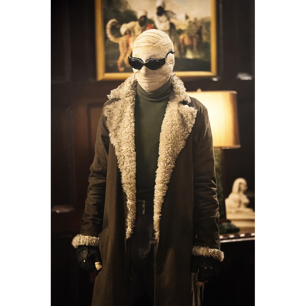 Negative Man Costume - Doom Patrol Fancy Dress - Negative Man Sweater