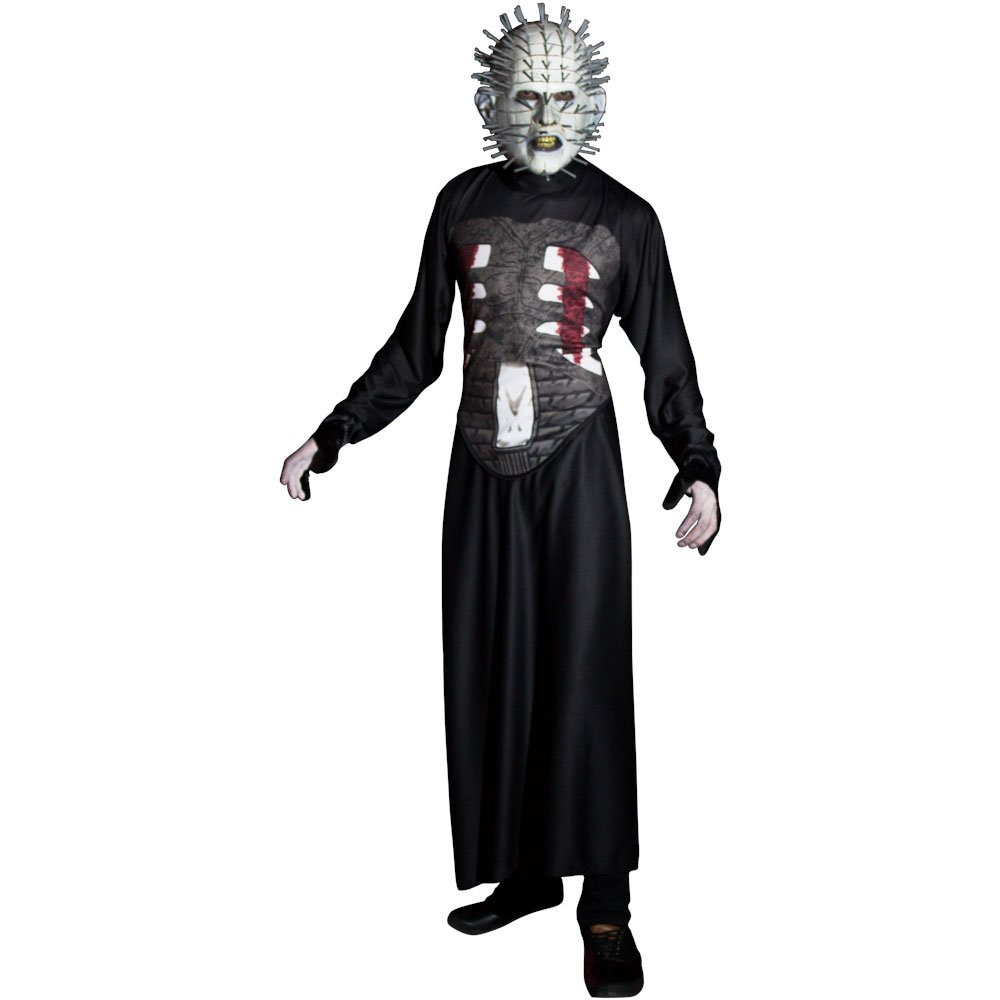 Pinhead Costume - Hellraiser Fancy Dress - Pinhead Dress