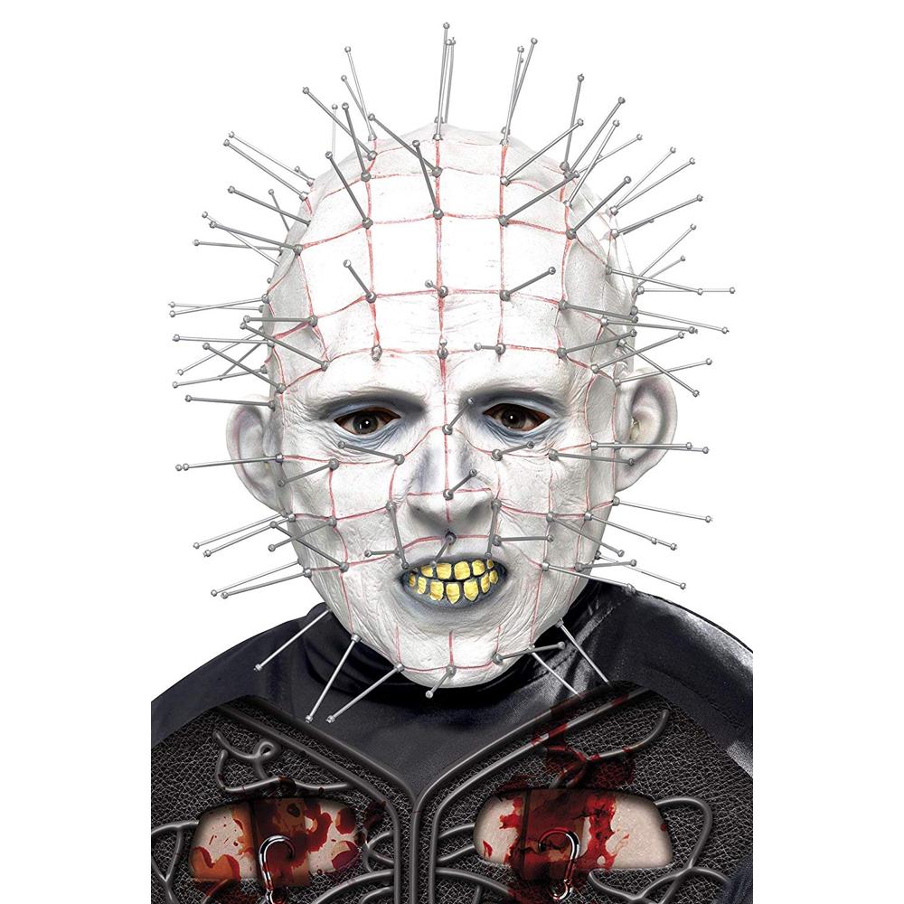 Pinhead Costume - Hellraiser Fancy Dress - Pinhead Mask