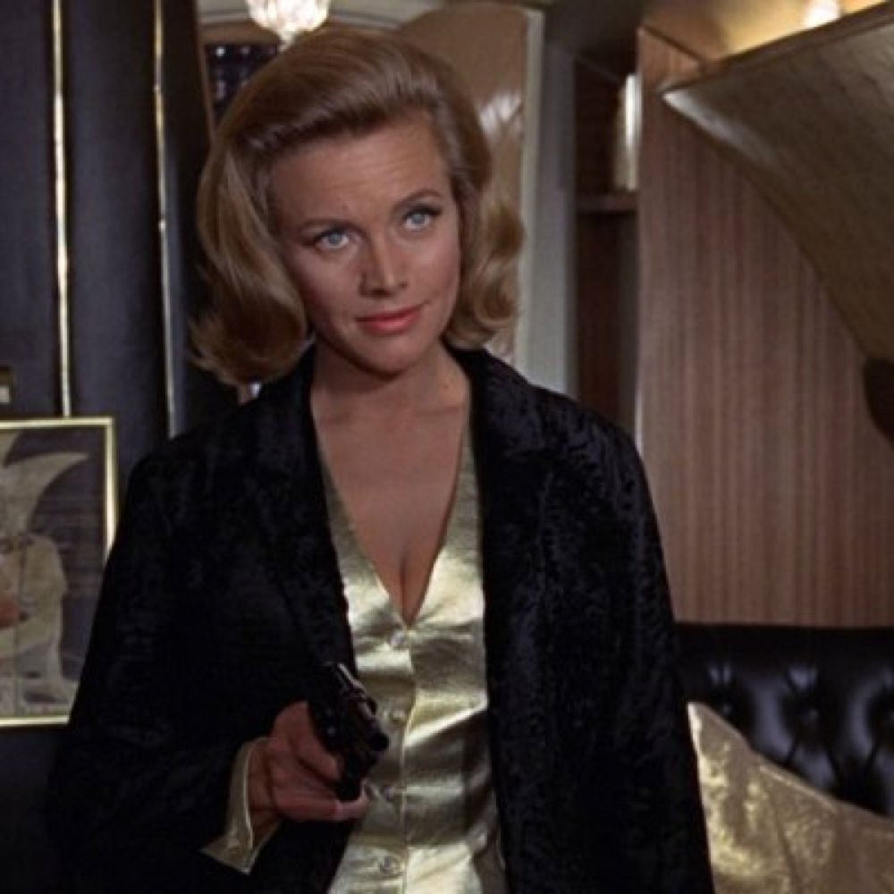 Pussy Galore Costume - James Bond Fancy Dress - Goldfinger - Pussy Galore Jacket