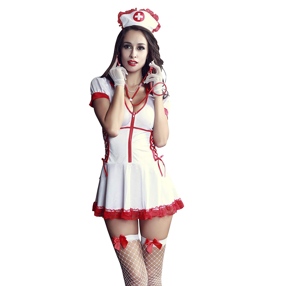 Sexy Nurse Costume - Naughty Nurse Costume - Fancy Dress - Sexy Nurse Complete Costume