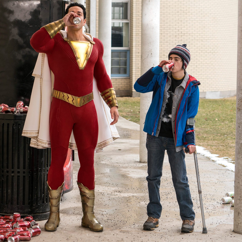 Shazam Costume - Shazam Fancy Dress - Shazam Boots