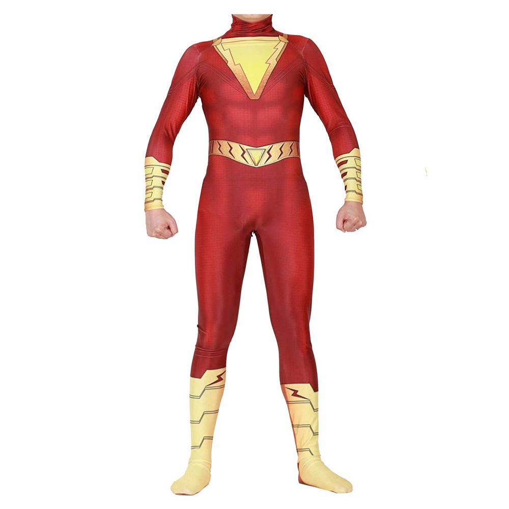 Shazam Costume - Shazam Fancy Dress - Shazam Suit