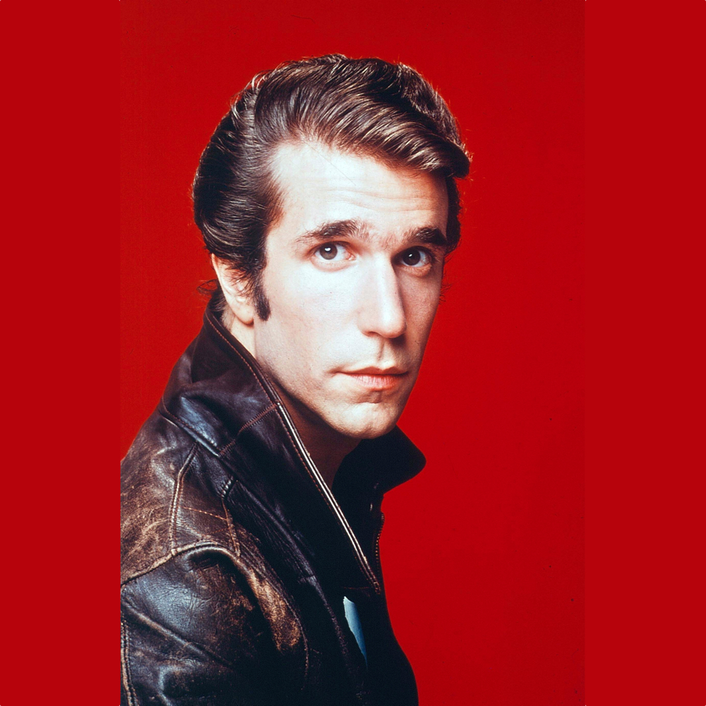 The Fonz Costume - Happy Days Fancy Dress - The Fonz Hair Wig