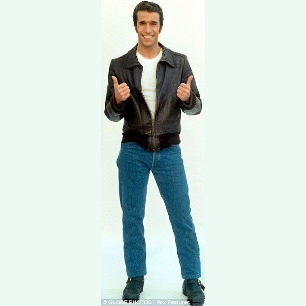 The Fonz Costume - Happy Days Fancy Dress - The Fonz Jeans