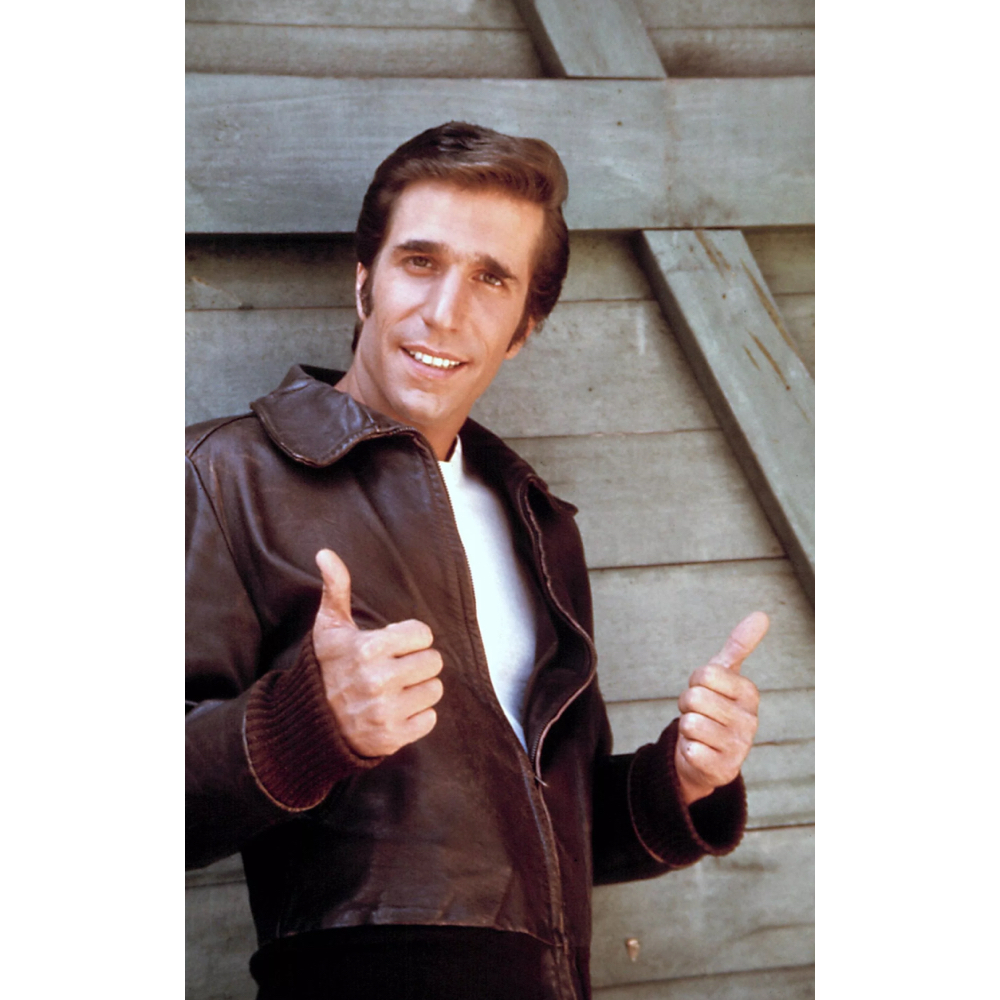The Fonz Costume - Happy Days Fancy Dress - The Fonz T-Shirt