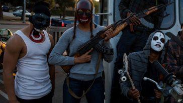 The Purge: Anarchy Biker Gang - Biker Gang Costume - Biker Gang Cosplay