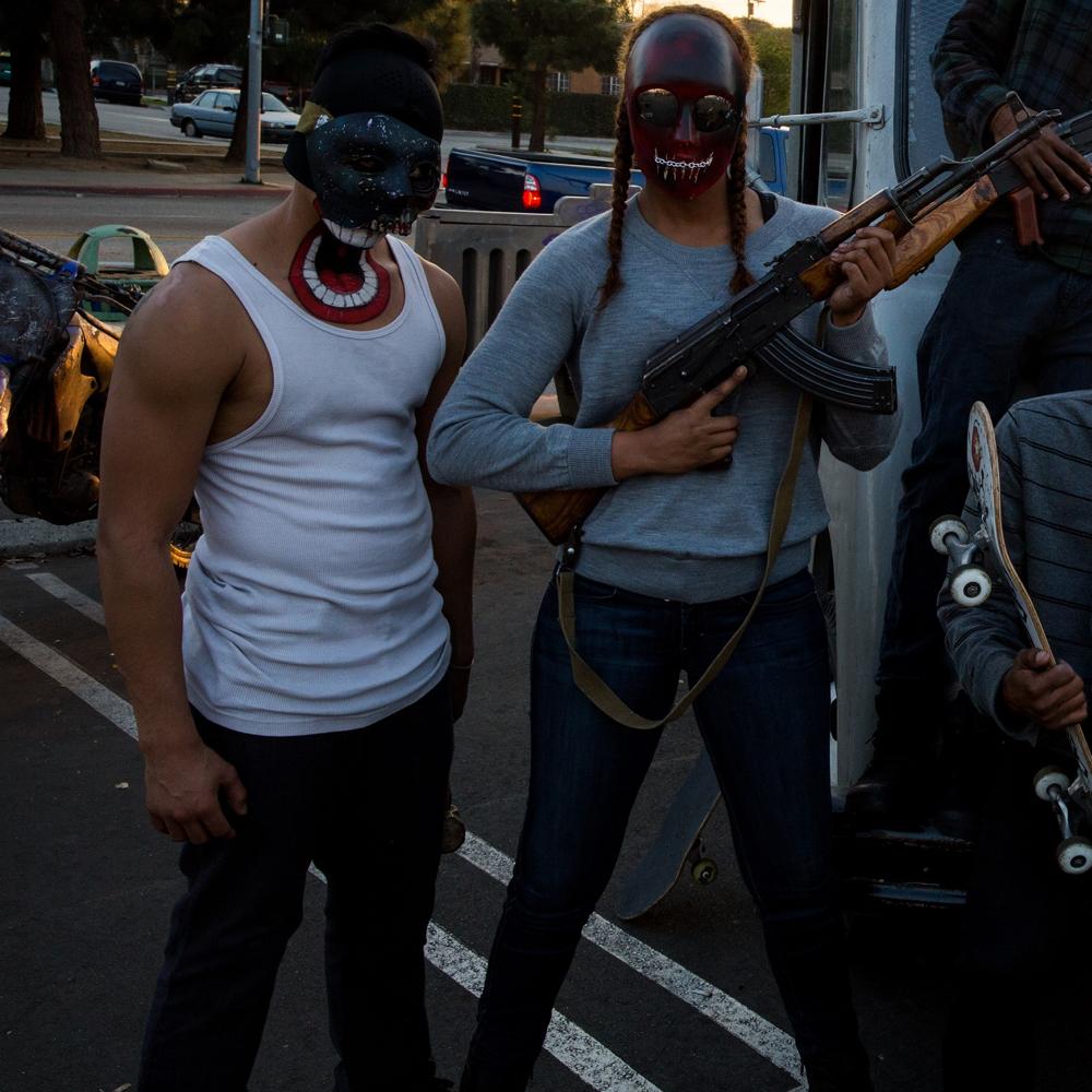 The Purge: Anarchy Biker Gang - Biker Gang Costume - Biker Gang Pants