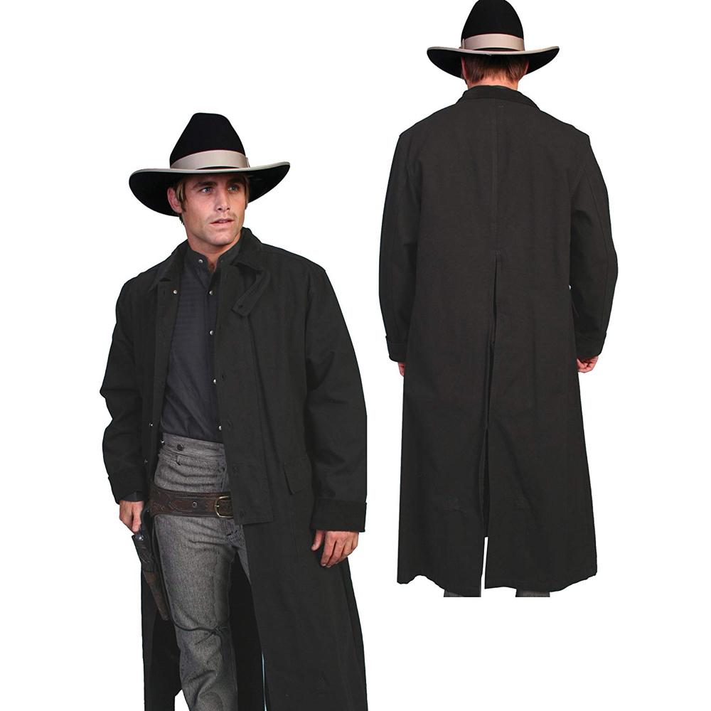 Wyatt Earp Costume - Tombstone Fancy Dress - Wyatt Earp Coat