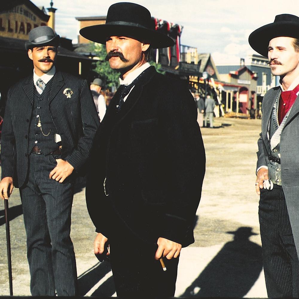 Wyatt Earp Costume - Tombstone Fancy Dress - Wyatt Earp Shirt