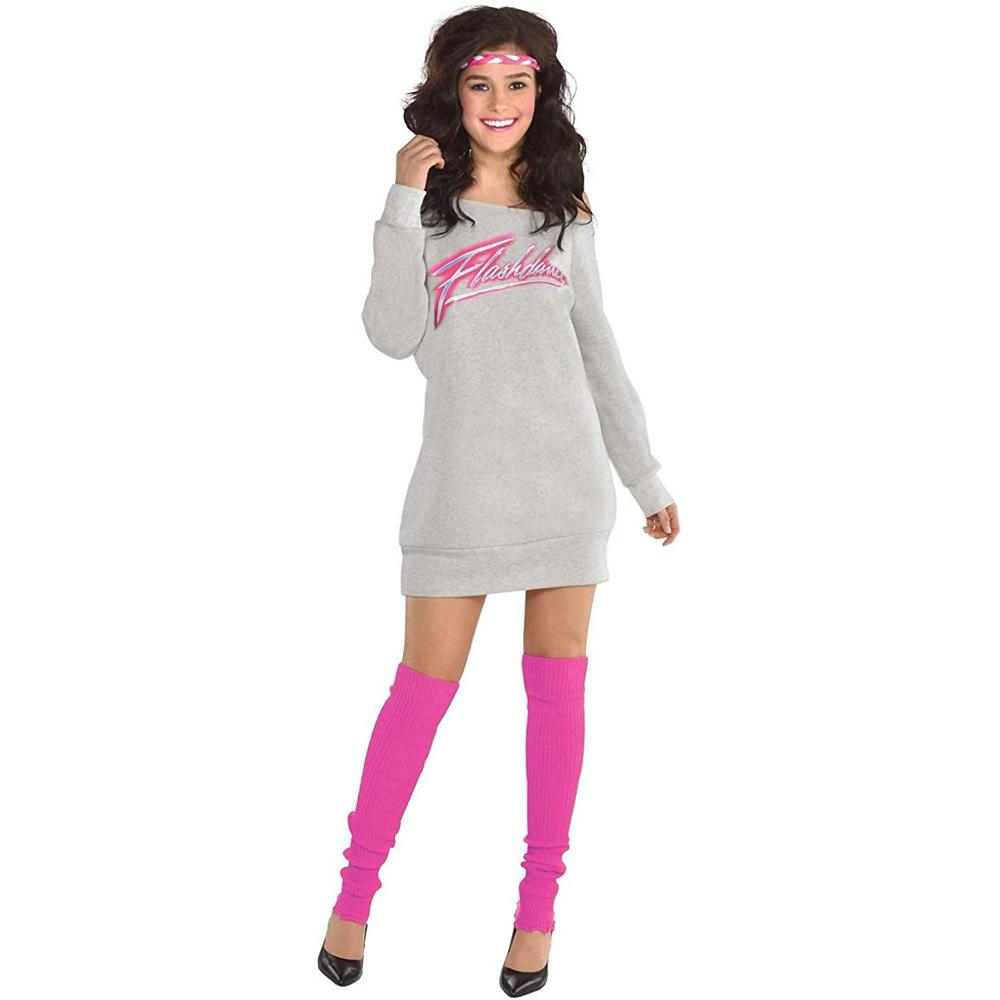 Alex Owens Costume - Flashdance Fancy Dress - Alex Owens Complete Costume