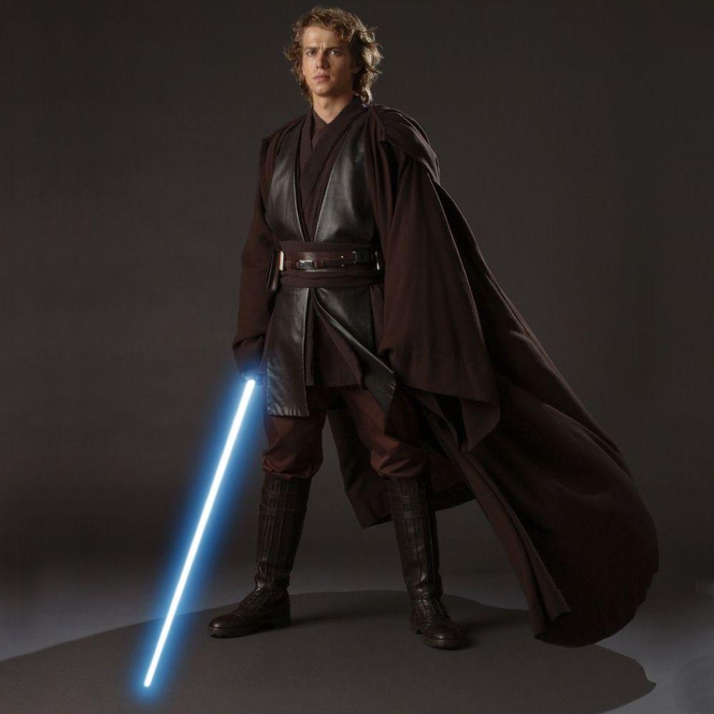 Anakin Skywalker Costume - Star Wars Fancy Dress - Anakin Skywalker Robe, Tunic, Pants