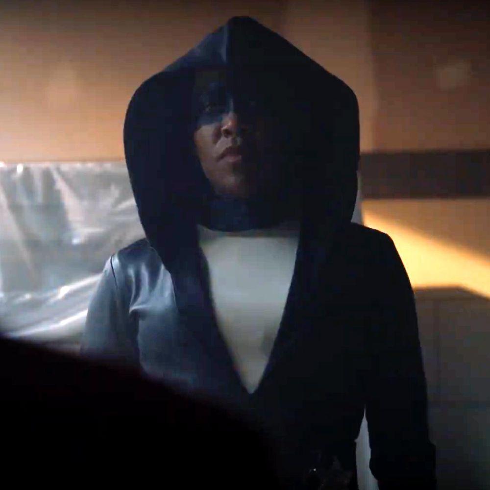 Angela Abar Costume - Watchmen - Angela Abar Face Mask