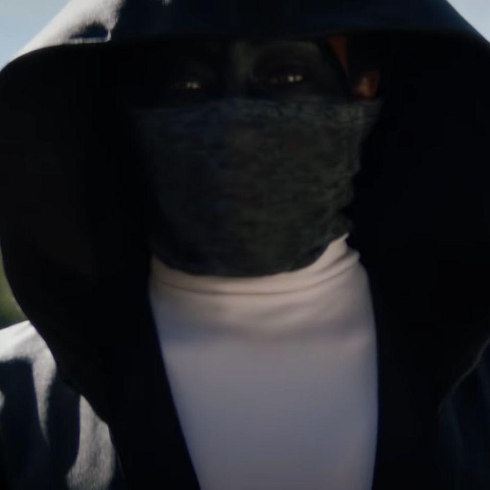 Angela Abar Costume - Watchmen - Angela Abar Face Paint