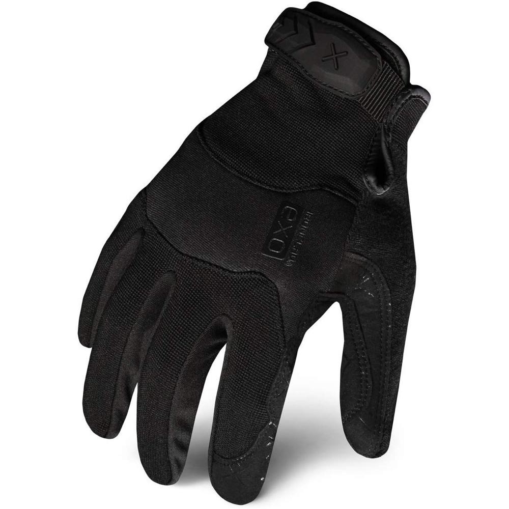 Black Noir Costume - The Boys Fancy Dress - Back Noir Gloves