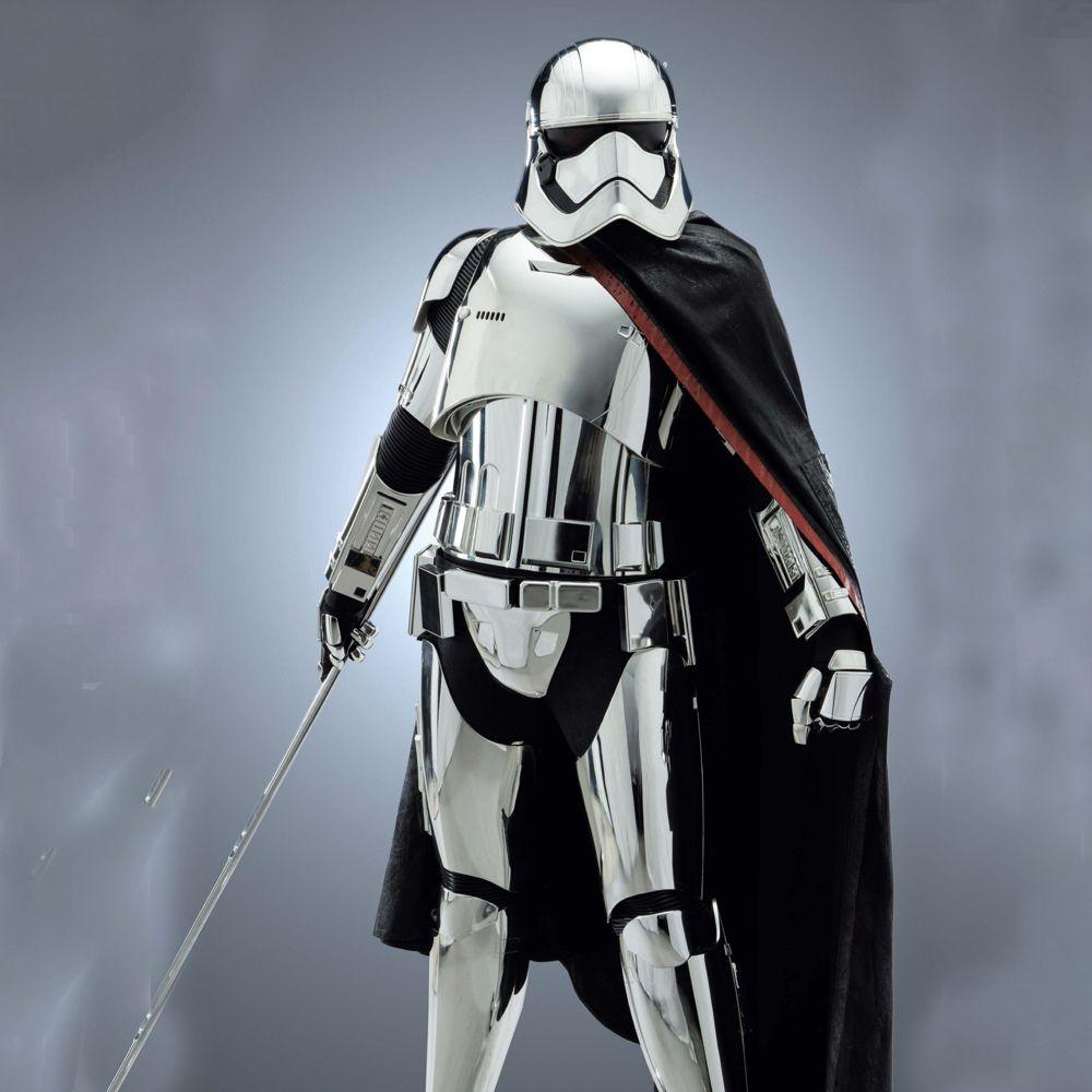 Captain Phasma Costume - Star Wars Fancy Dress - Captain Phasma Aromor