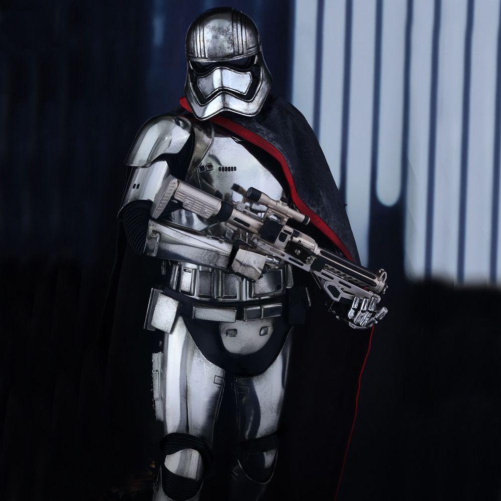 Captain Phasma Costume - Star Wars Fancy Dress - Captain Phasma Base Layer Top