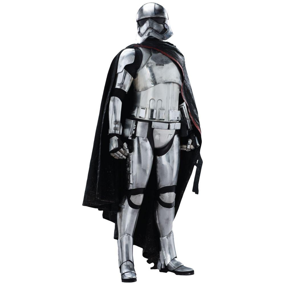 Captain Phasma Costume - Star Wars Fancy Dress - Captain Phasma Complete Costume