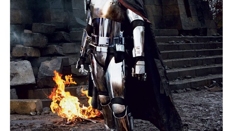 Captain Phasma Costume - Star Wars Fancy Dress - Captain Phasma Cosplay