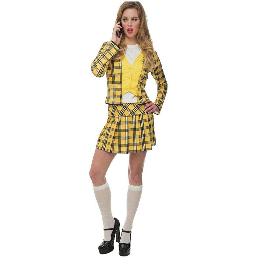 Cher Horowitz Costume - Clueless Fancy Dress - Cher Horowitz Blazer and Skirt