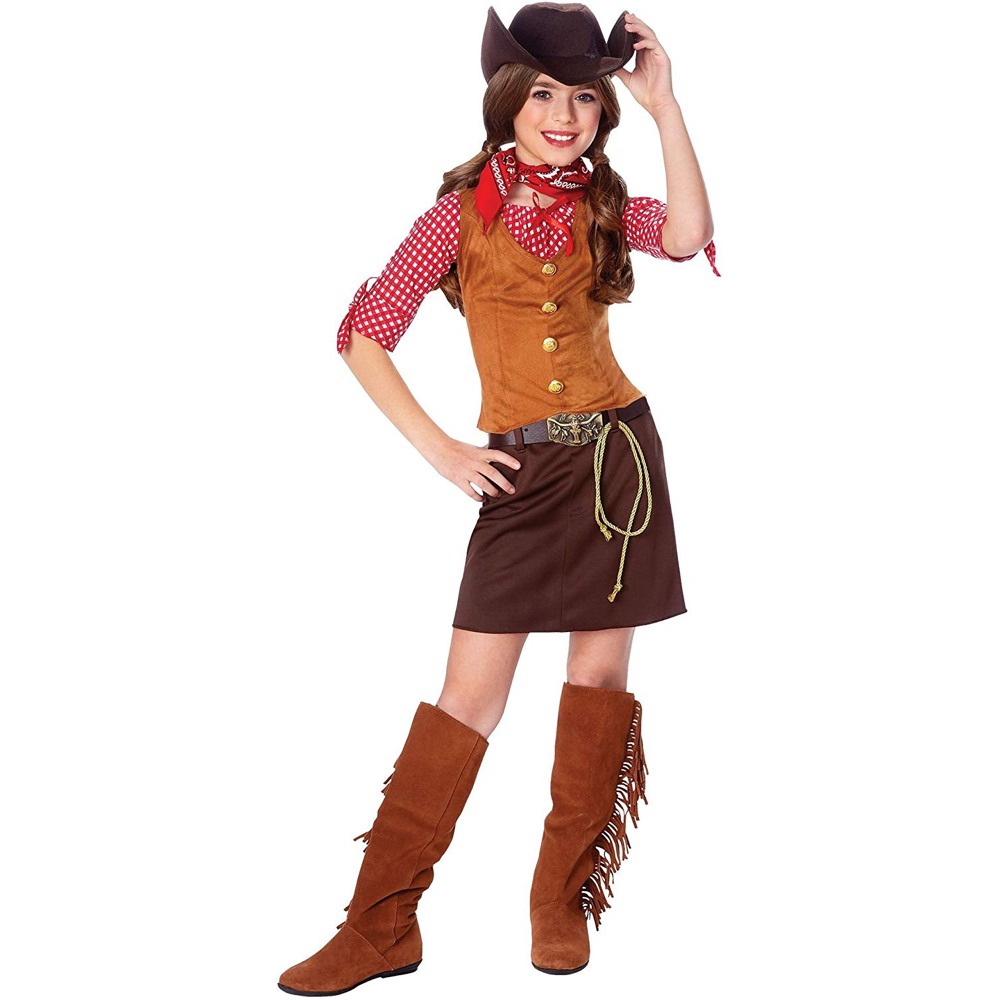 Cowgirl Costume - Cowgirl Fancy Dress - Cowgirl Child's Costume