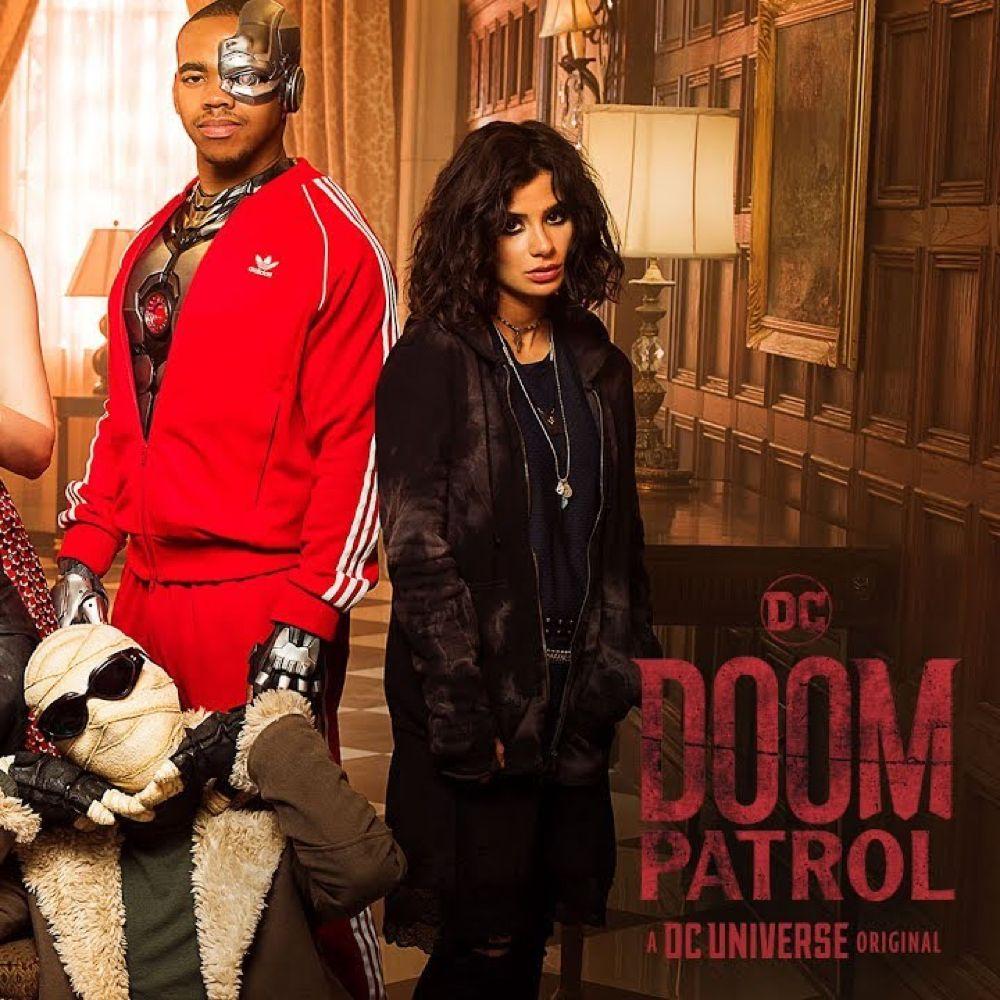 Crazy Jane Costume - Doom Patrol Fancy Dress - Crazy Jane Hoodie