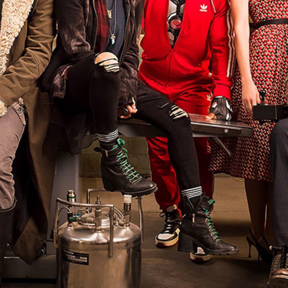 Crazy Jane Costume - Doom Patrol Fancy Dress - Crazy Jane Socks