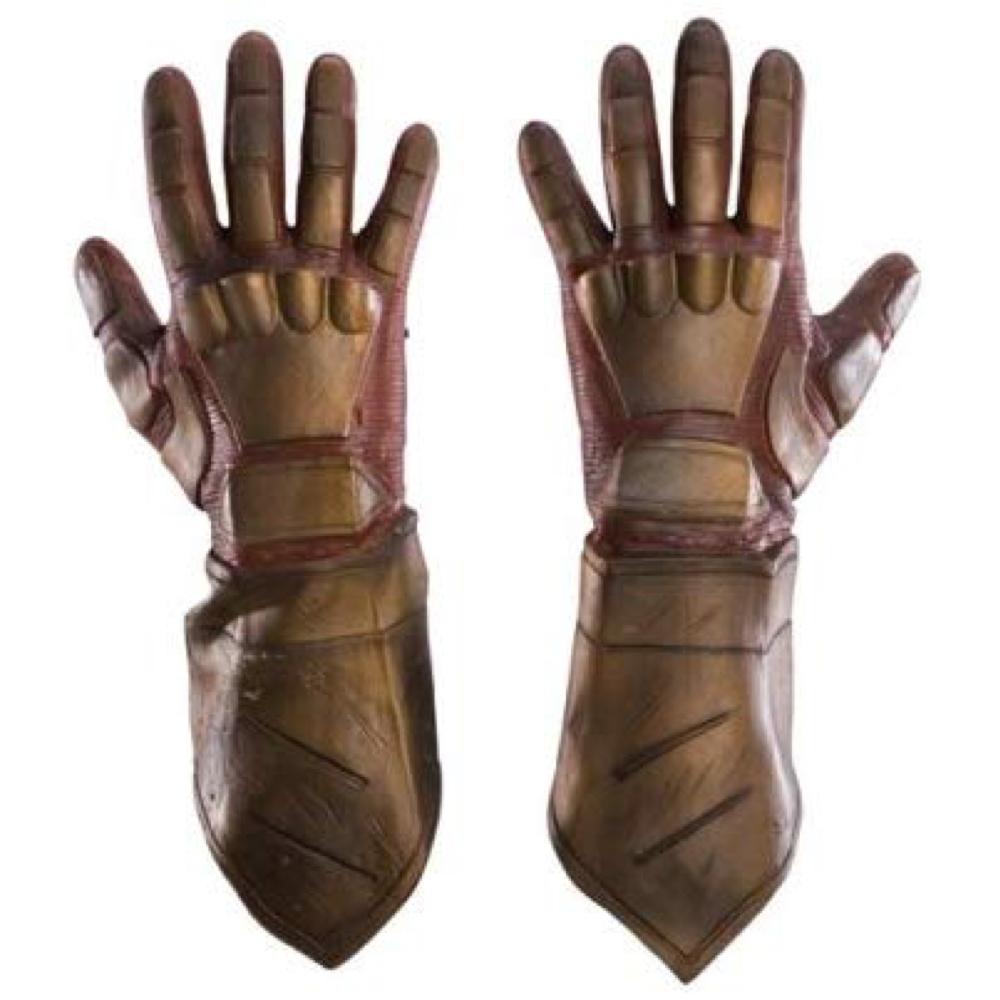 Cyborg Costume - Doom Patrol Fancy Dress - Cyborg Hands