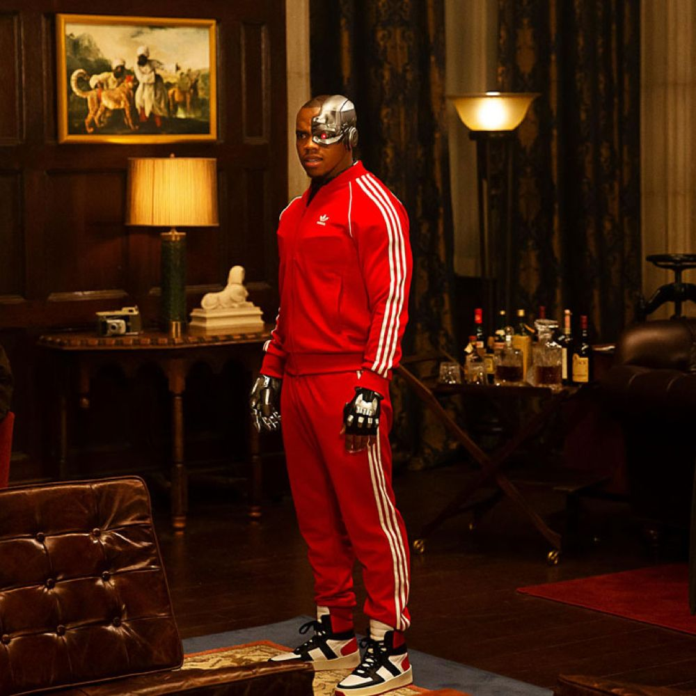 Cyborg Costume - Doom Patrol Fancy Dress - Cyborg Sneakers