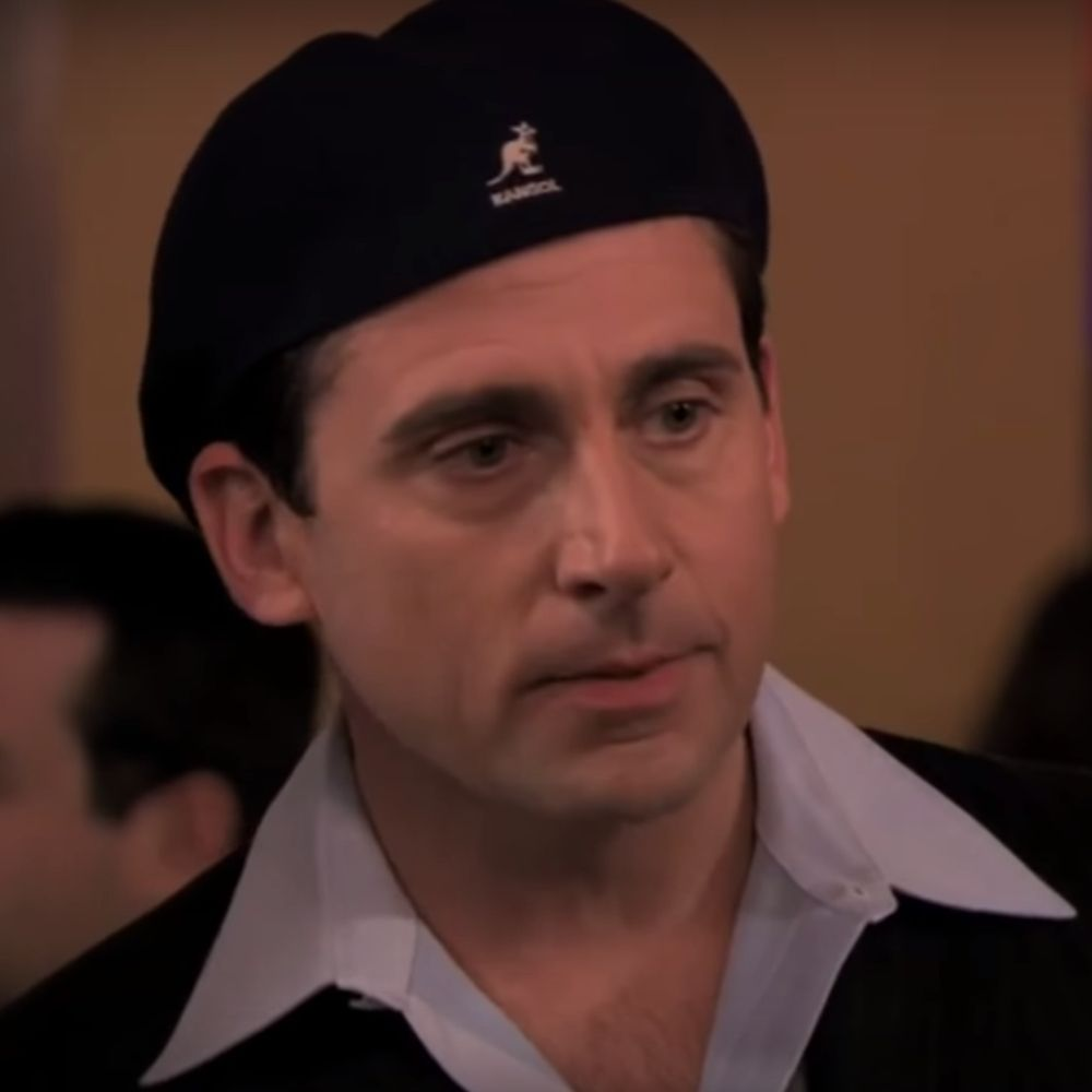 Date Mike Costume - The Office Fancy Dress - Date Mike Kangol Hat
